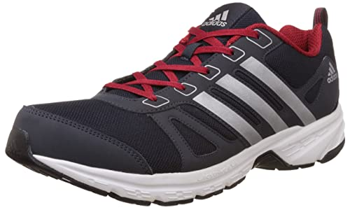 944ee52b5eaca Adidas Men's Adi Primo 1.0 M Dark Blue, Silver and Red Mesh Sport Running  Shoes