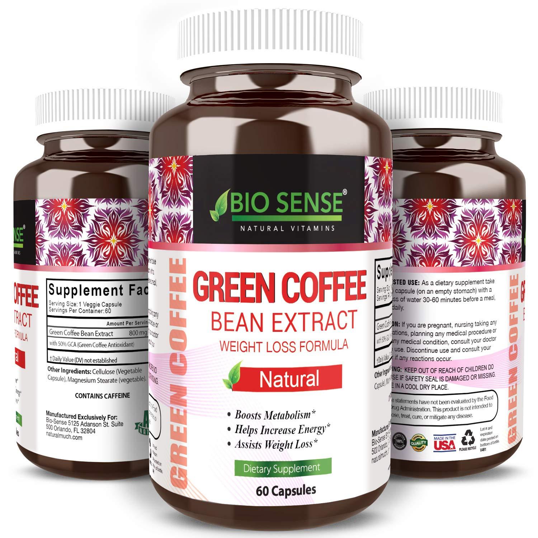 Amazon Com Bio Sense Best Pure Green Coffee Bean Weight Loss