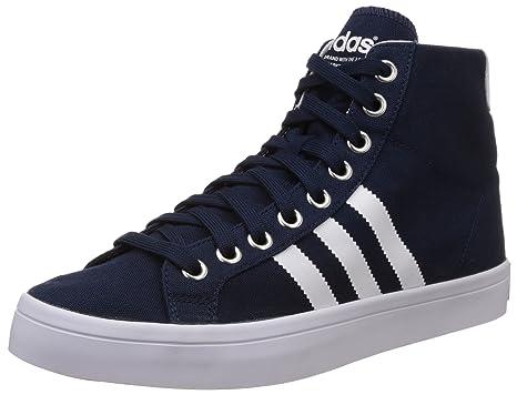adidas Originals Azul Court Vantage Mid Azul Originals Zapatillas Unisex Zapatos 2a4ec6