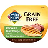 Nature's Recipe Wet Dog Food, Chicken & Duck in Broth Recipe, 2.75 Ounce Cup (Pack of 12), Grain Free