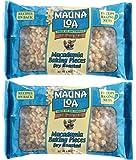Mauna Loa Roasted Unsalted Macadamia Nut Baking Pieces - 6 oz - 2 pk