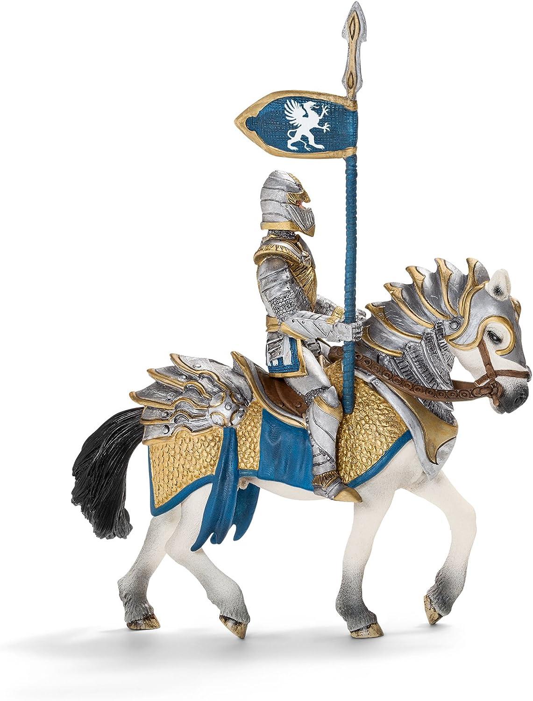 Schleich - Caballero del Grifo con Lanza, Figura (70109)