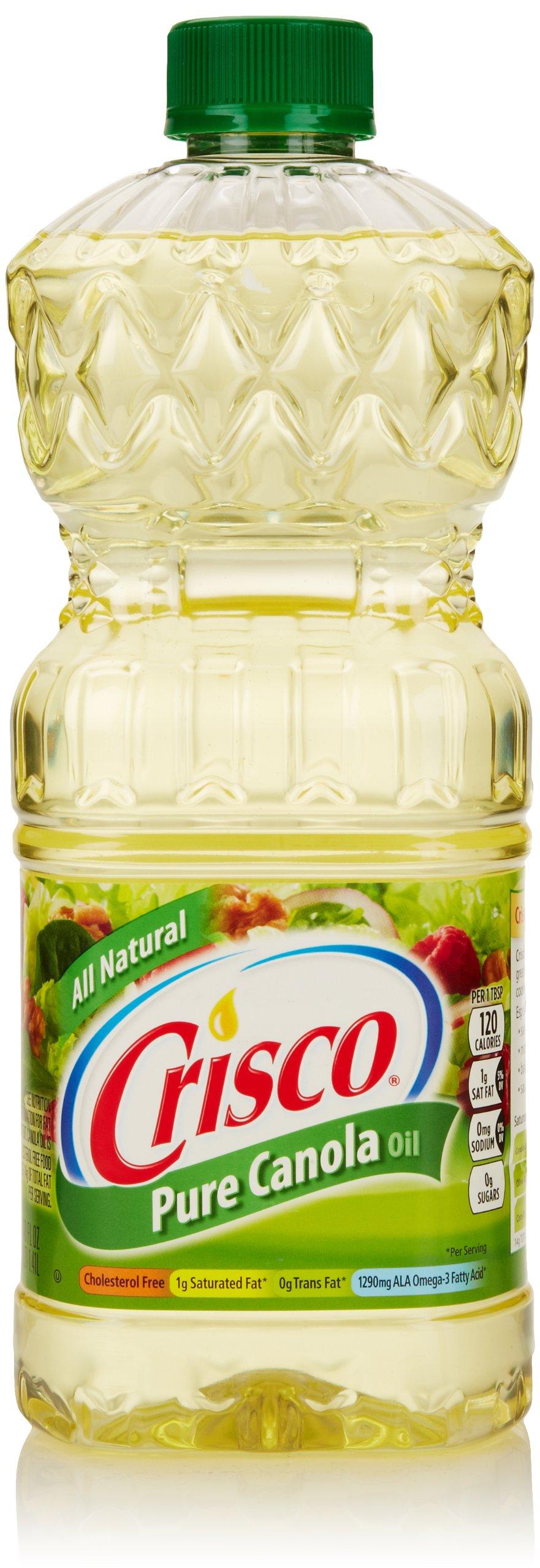 Crisco Pure Canola Oil, 48 Fl Oz