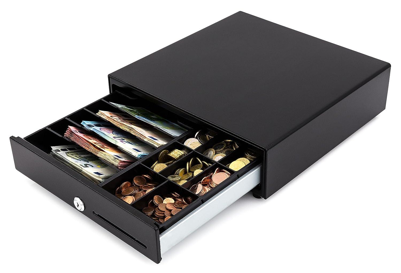 Cassetto per contanti acropaq ac335, Nero 3200090130015