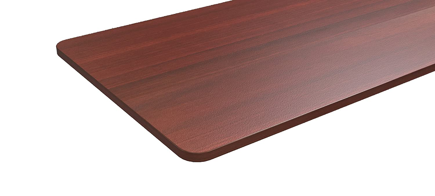 1 Thick Table Top | 60 x 30 Large Surface Area (Light Oak) United Canada Inc