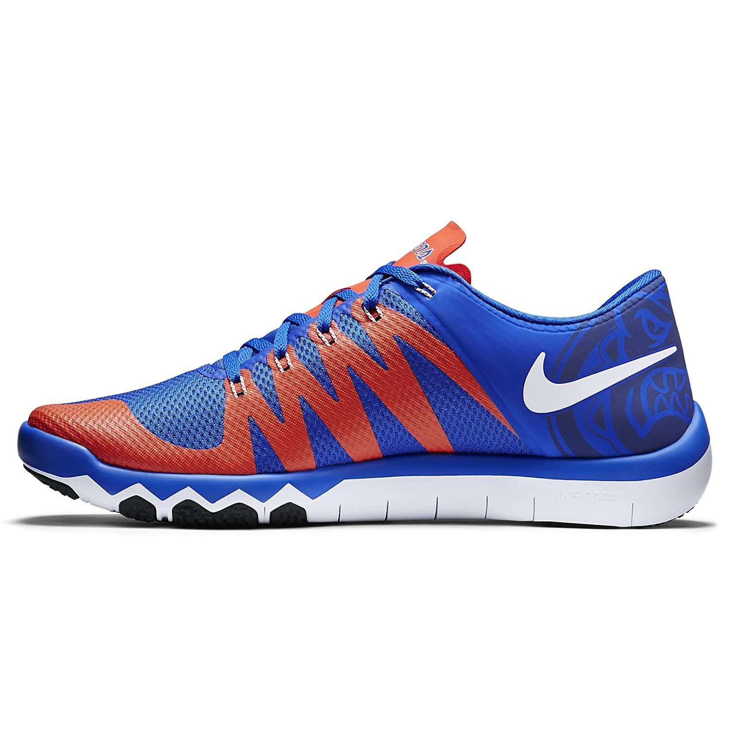 57d9749a035e NIKE Free Trainer 5.0 V6 AMP Florida Gators 723939-481 Royal Team Orange  Men s Shoes (Size 13)  Amazon.co.uk  Shoes   Bags
