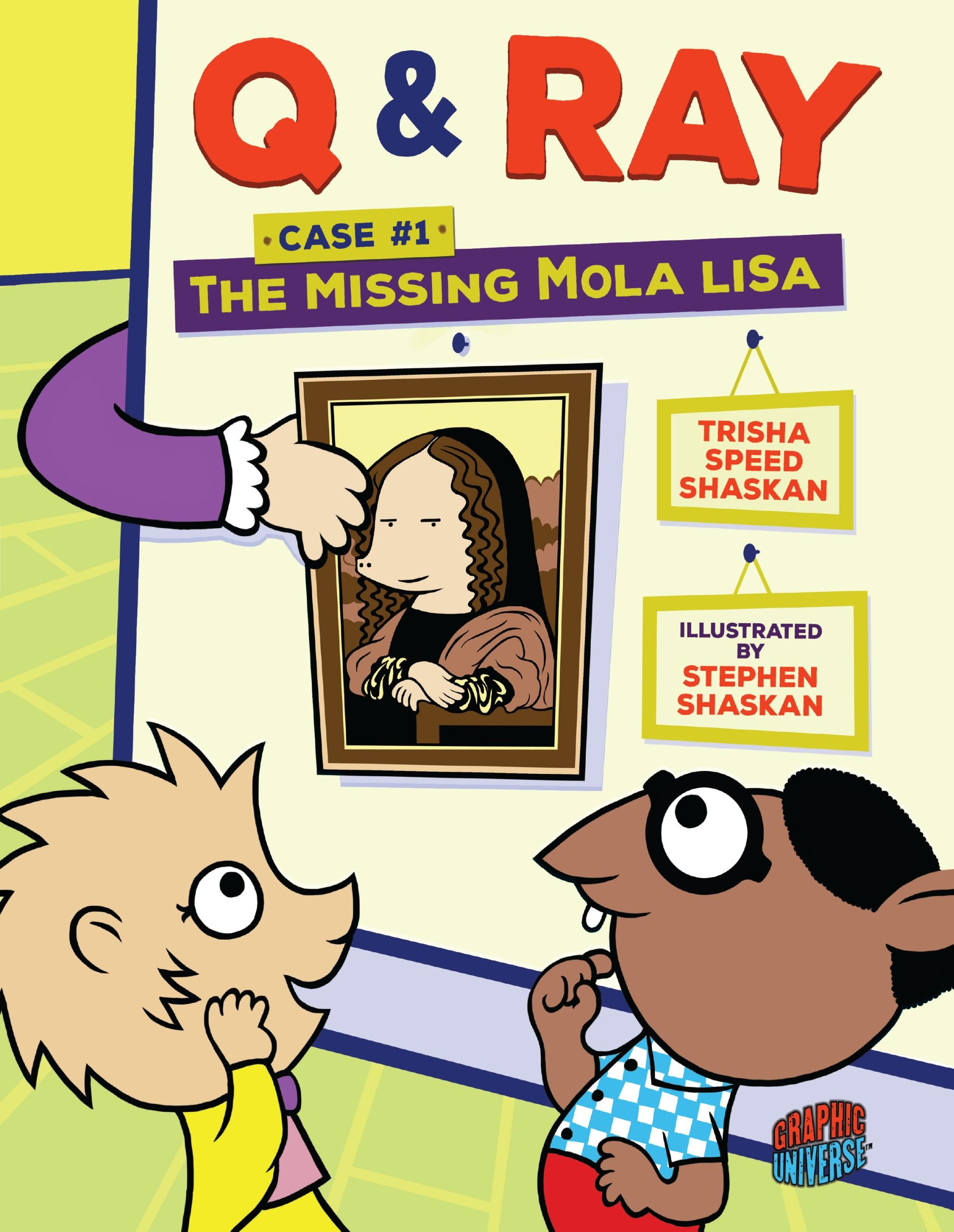 Read Online The Missing Mola Lisa (Q & Ray) ebook