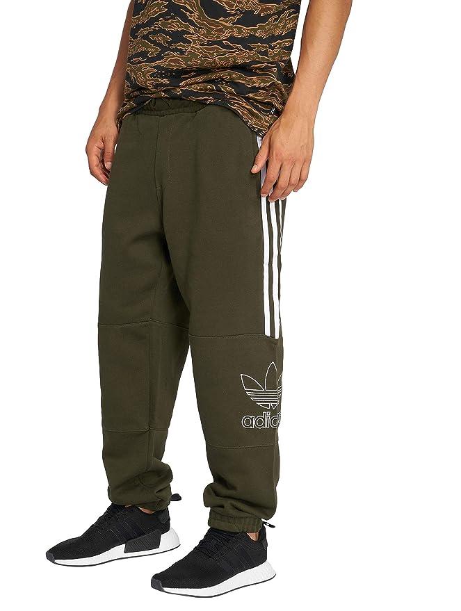 adidas Originals Herren Jogginghosen Outline Pant Olive XS