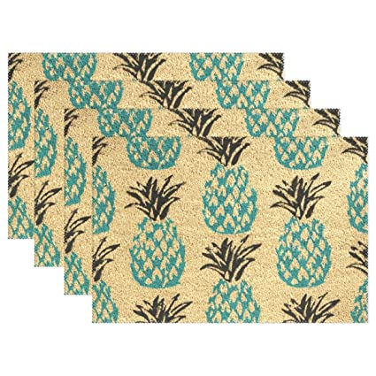 MAMACOOL Pineapple Placemats Heat Resistant