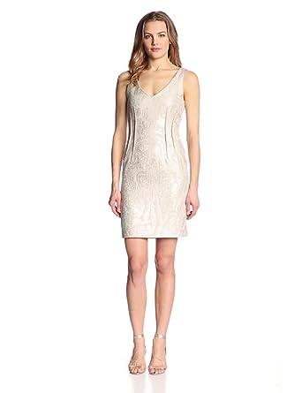 Amy Matto Women's Madden Dress, Neutral, 4