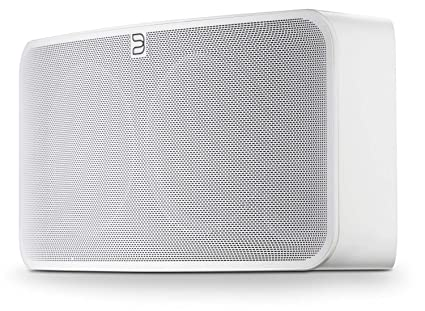 Bluesound Pulse 2i Wireless Multi-Room Smart Speaker with Bluetooth - White  - Works with Alexa and Siri