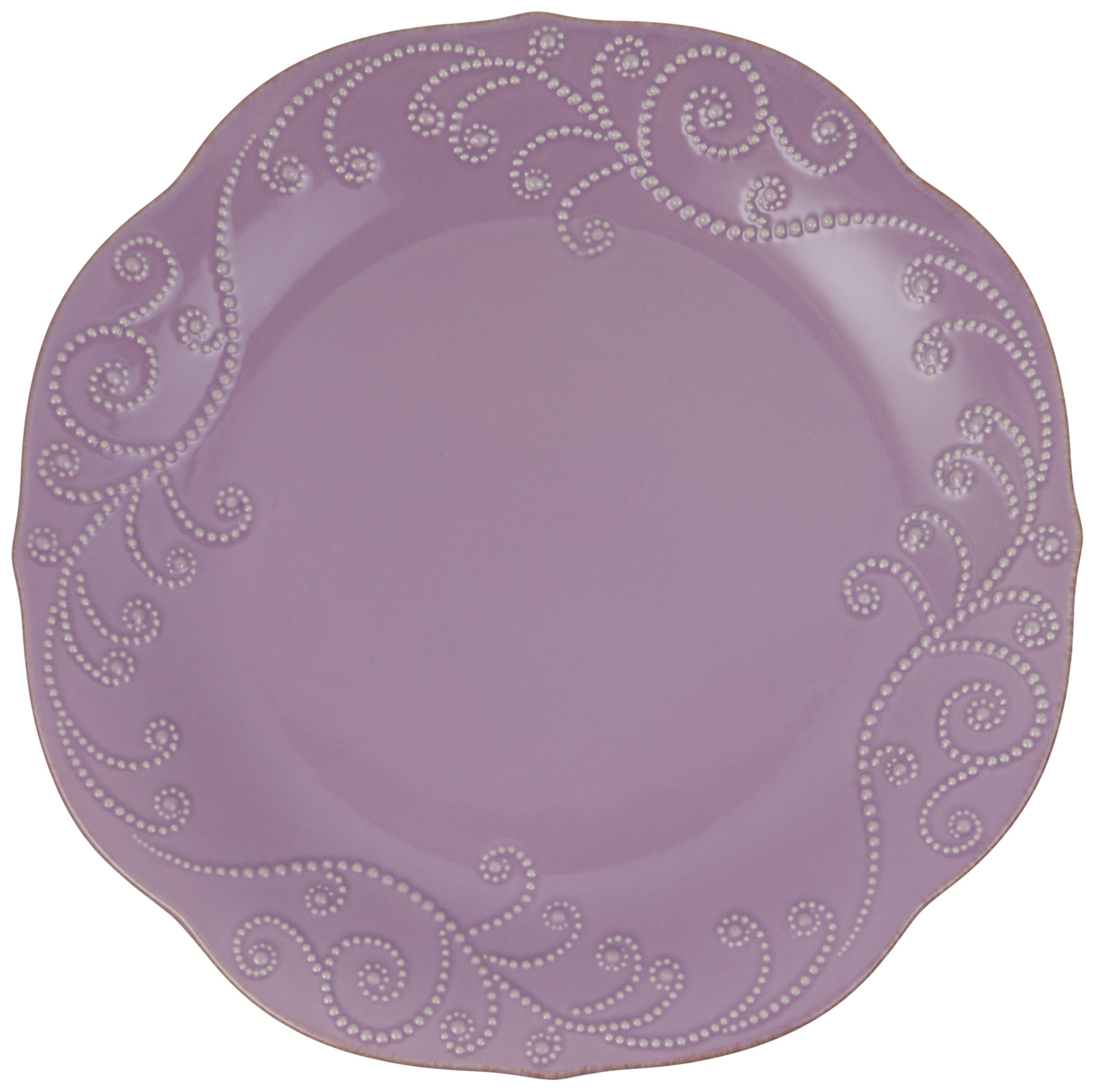 Lenox 843827 FRENCH PERLE VIOLET DW DINNER PLATE - Pack of 4 by Lenox (Image #2)