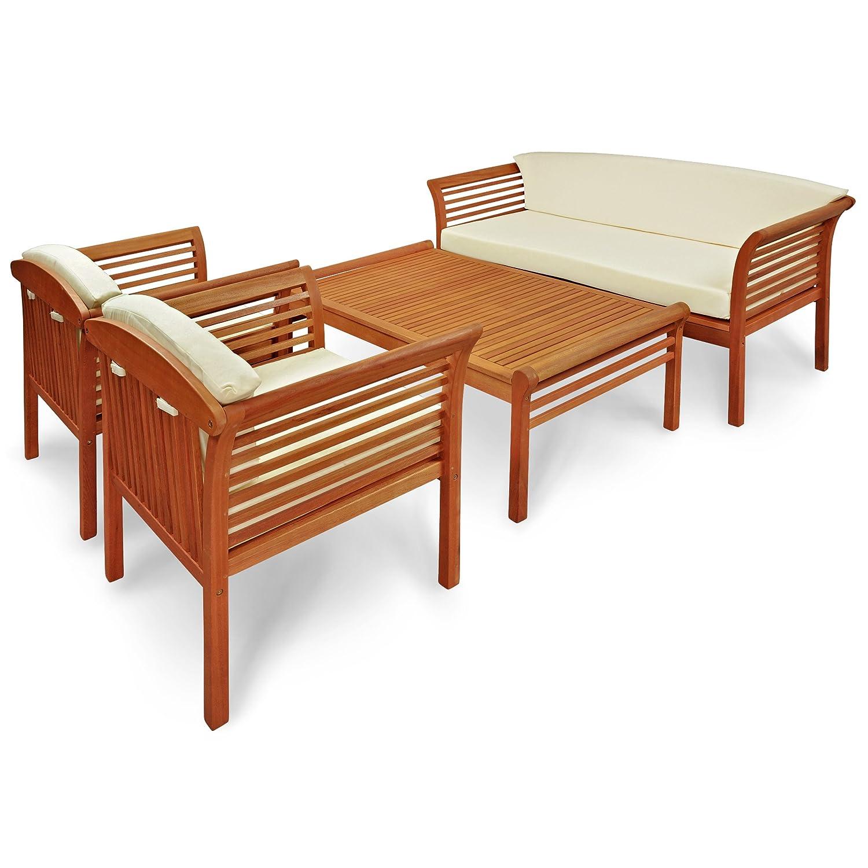indoba® IND-70110-SASE4 - Serie Samoa - Gartenmöbel Set - Loungeset ...