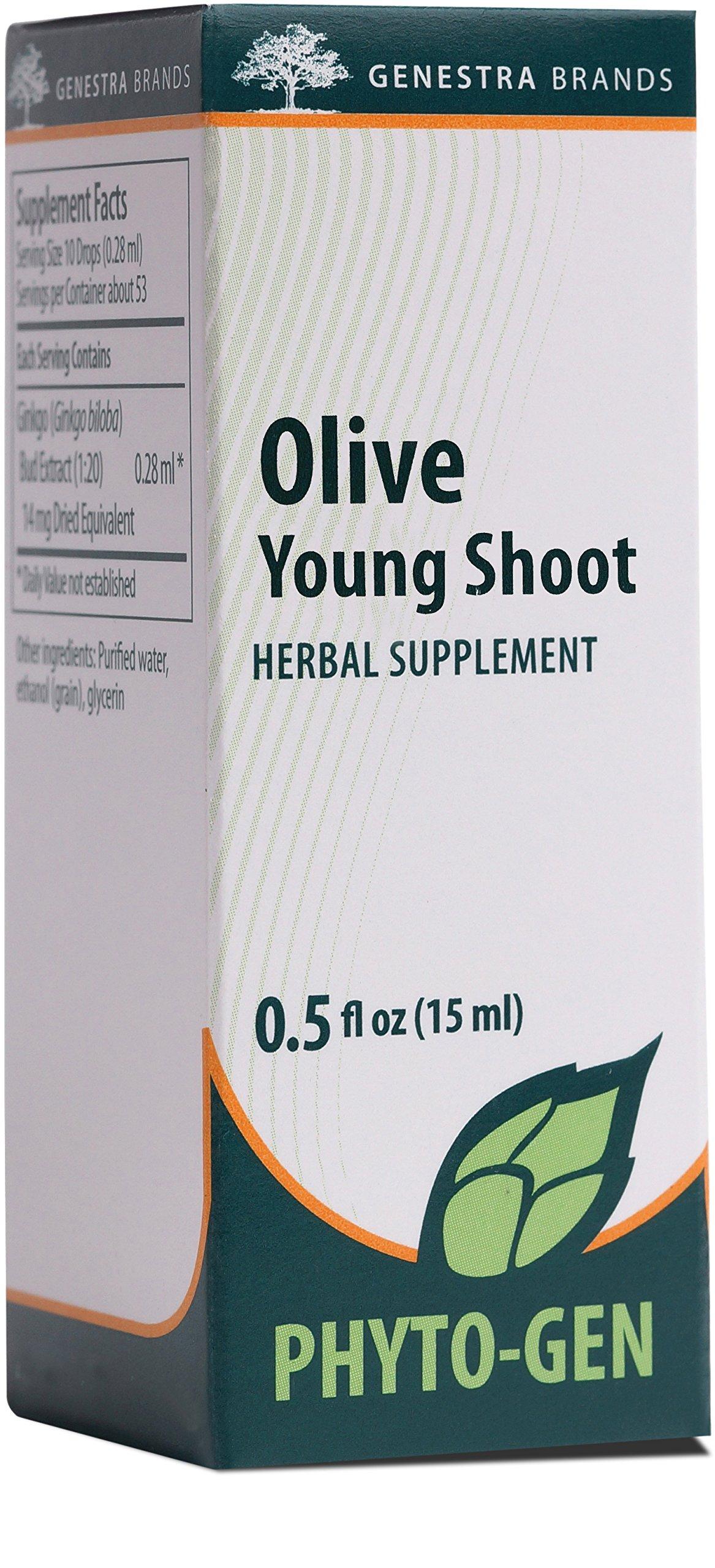 Genestra Brands - Olive Young Shoot - Herbal Supplement - 0.5 fl. oz.