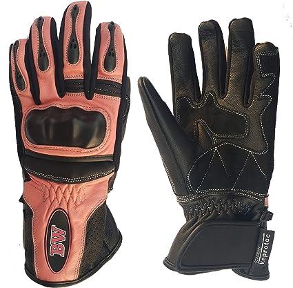 Gants de protection en cuir pour moto et moto pour homme