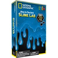 National Geographic Slime DIY Science Lab Make Glowing Blue
