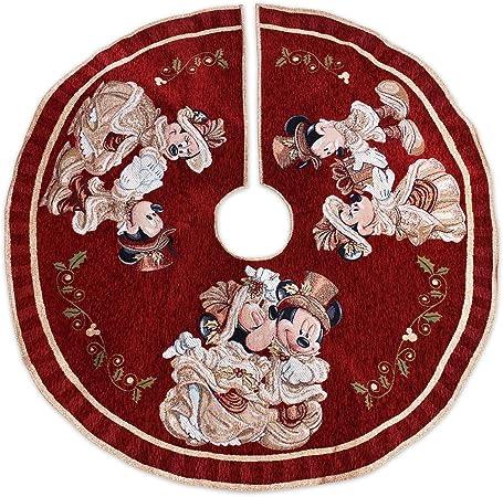 Parque de Disney Mickey y Minnie Mouse Victoriano tapiz árbol de ...