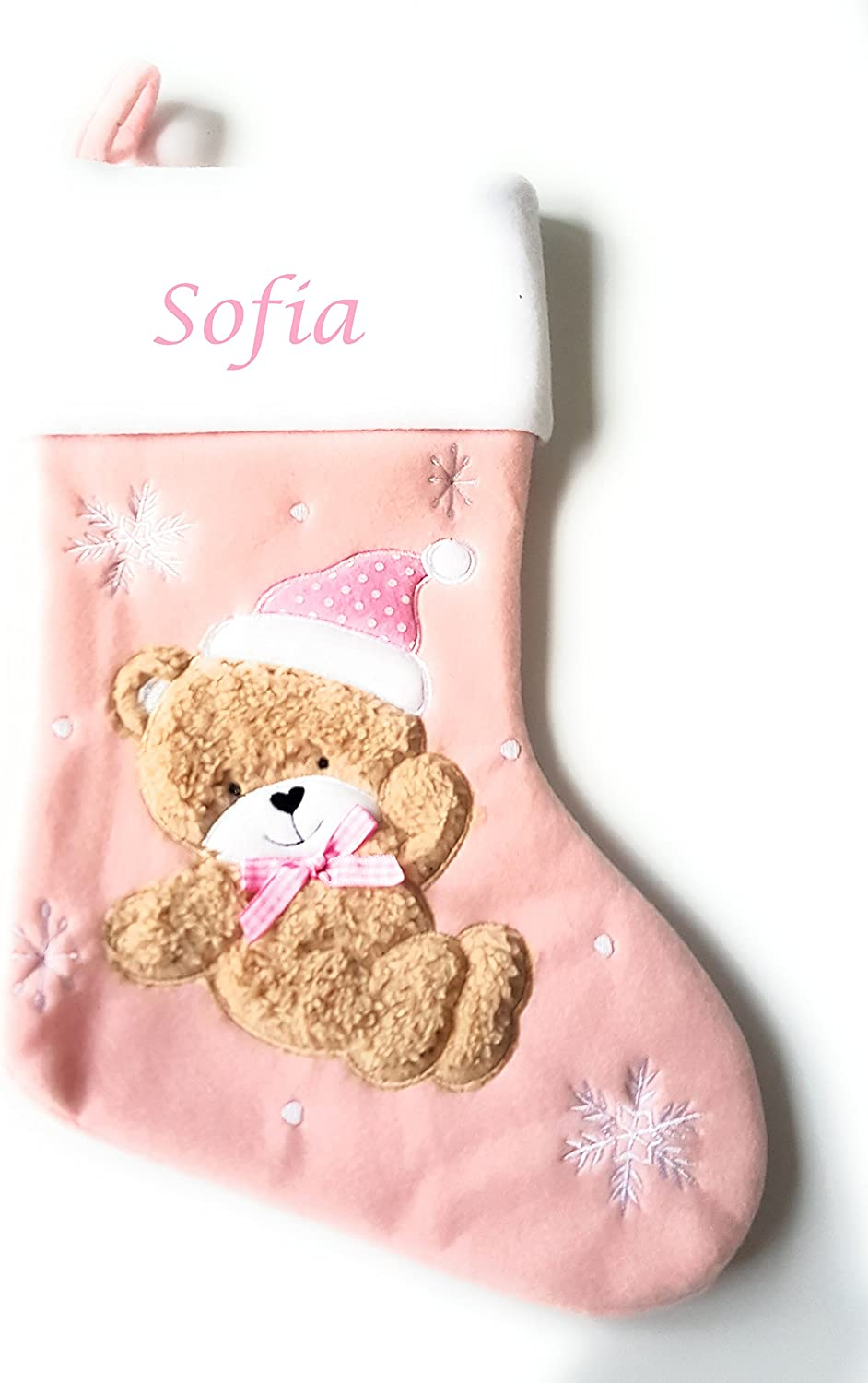 New Personalised Embroidered Children/'s Socks With One Name