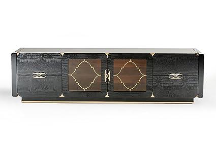 Amazon Com A X Vig Furniture Padua Collection Modern Crocodile