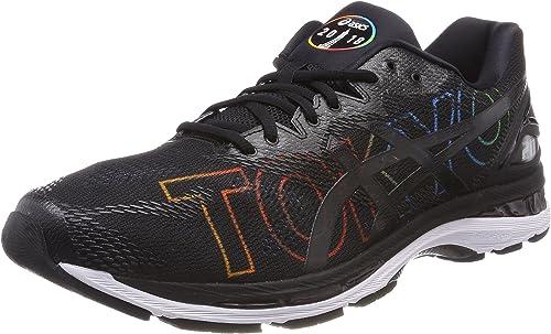 Asics Gel-Nimbus 20 Tokyo, Zapatillas de Running para Hombre, Negro (Tokyo/2018/black 9090), 49 EU: Amazon.es: Zapatos y complementos