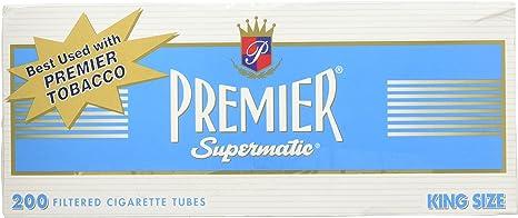 500 NEW KING SIZE 25mm FILTER BLUE LIGHTS ROLLO TUBE Cigarrette Tobbacco