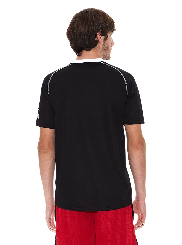 Luanvi Camiseta Manga Corta Master Negro/Blanco L: Amazon.es: Ropa ...