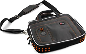 DURAGADGET Black Laptop Bag Shoulder Strap Case - Compatible with Acer Chromebook Series C7 & Acer C720 Chromebook