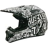Rockhard 0801-524 Hustler Volume 3 MX Helmet, Large
