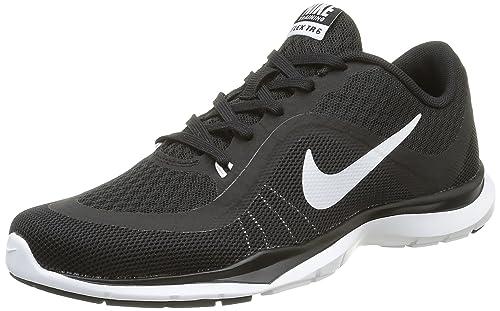 6675892ccb00b Nike Women s WMNS Flex Trainer 6 Black White Multisport Training Shoes -3(831217