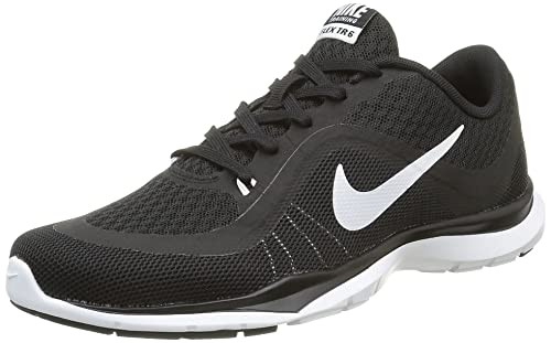 Nike Womens Flex Trainer 6 Black/White Training Shoe 6.5