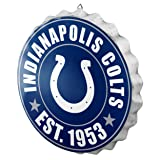 Indianapolis Colts NFL Bottle Cap Wall Sign