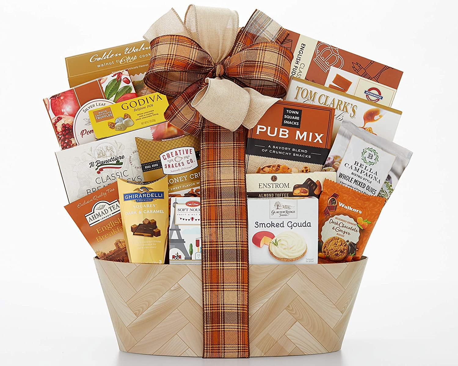 Sympathy Gift Basket Heartfelt Thoughts Our Sincere Condolences Thinking Of You In Times Of Sorrow Bereavement by Wine Country Gift Baskets