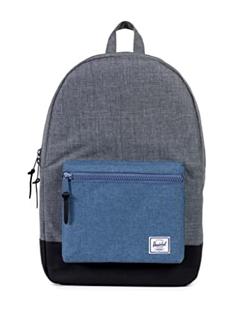 Amazon.com   Herschel Supply Co. Settlement, Charcoal Crosshatch Navy  Crosshatch Black Black, One Size   Casual Daypacks 6470478358