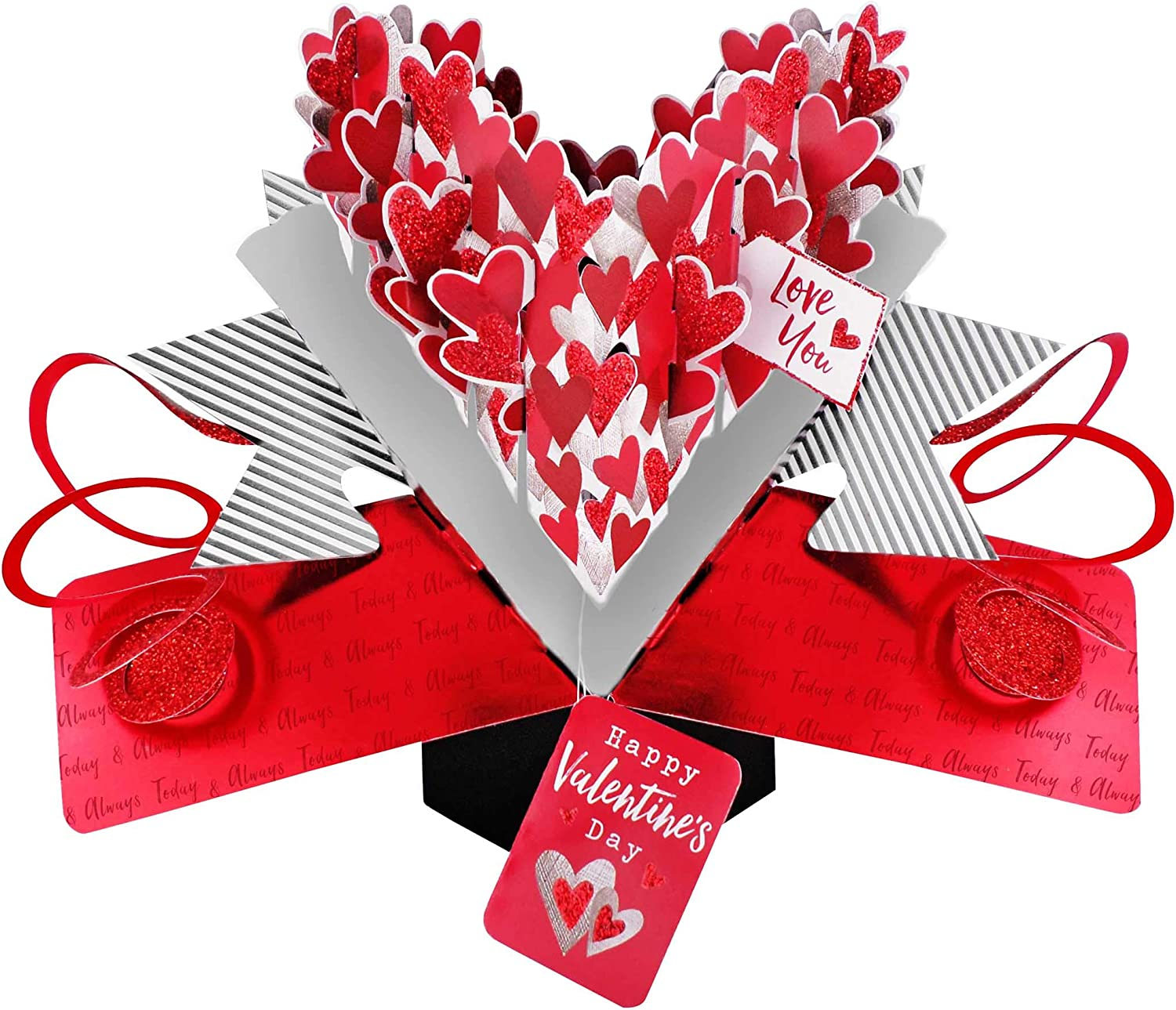 Second Nature Valentines Day Pop Up Card