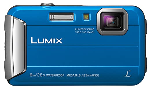 29 opinioni per Panasonic Lumix DMC-FT30EG-A Fotocamera, 16MP, Waterproof, Optical Zoom 4x,