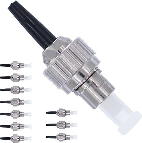 Connettore fibra FC-Kit Connettore fibra ottica monomodale SIMPLEX APC 0.9mm