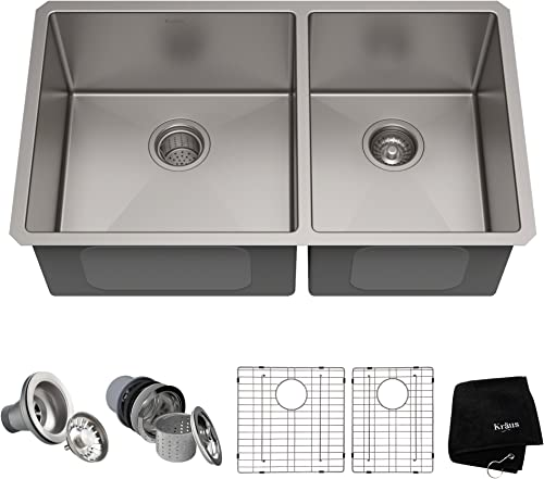 Kraus Standart KHU103-33 Stainless Steel Kitchen Sink