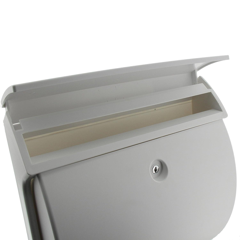 81RKZJjkhRL._SL1500_ Erstaunlich Briefkasten Weiß Mit Zeitungsrolle Dekorationen