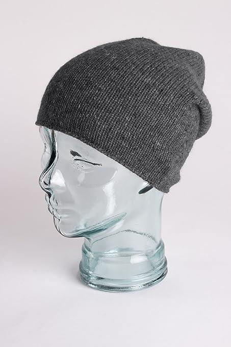 Love Cashmere Bonnet pour Homme 100% Cachemire - Gris Foncé - Fait main à  Écosse  Amazon.fr  Vêtements et accessoires a703fbeeed0