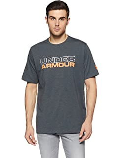 3539cbff Amazon.com: Under Armour Men Linear Shift Short Sleeve: Clothing