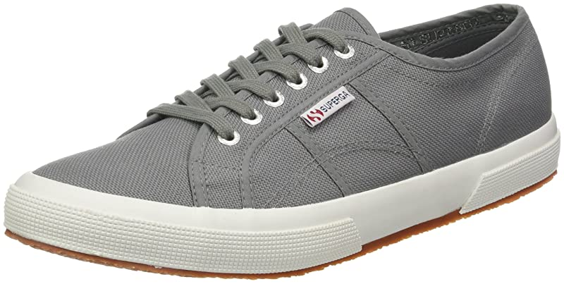 Superga 2750 Cotu Classic Sneakers Low-Top Unisex Damen Herren Grau (Grey Sage)