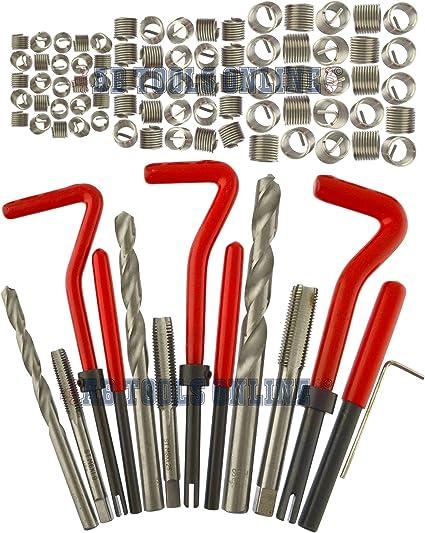 AB Tools-Neilsen Kit de reparaci/ón e instalaci/ón de Rosca helicoil Set 88pc tama/ños m/étricos M6-M10047