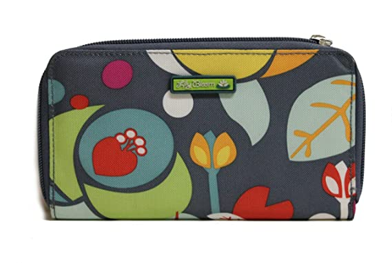 88301ca8fdca Lily Bloom Zip Around Wallet Flower Multi Karma Bloom at Amazon ...