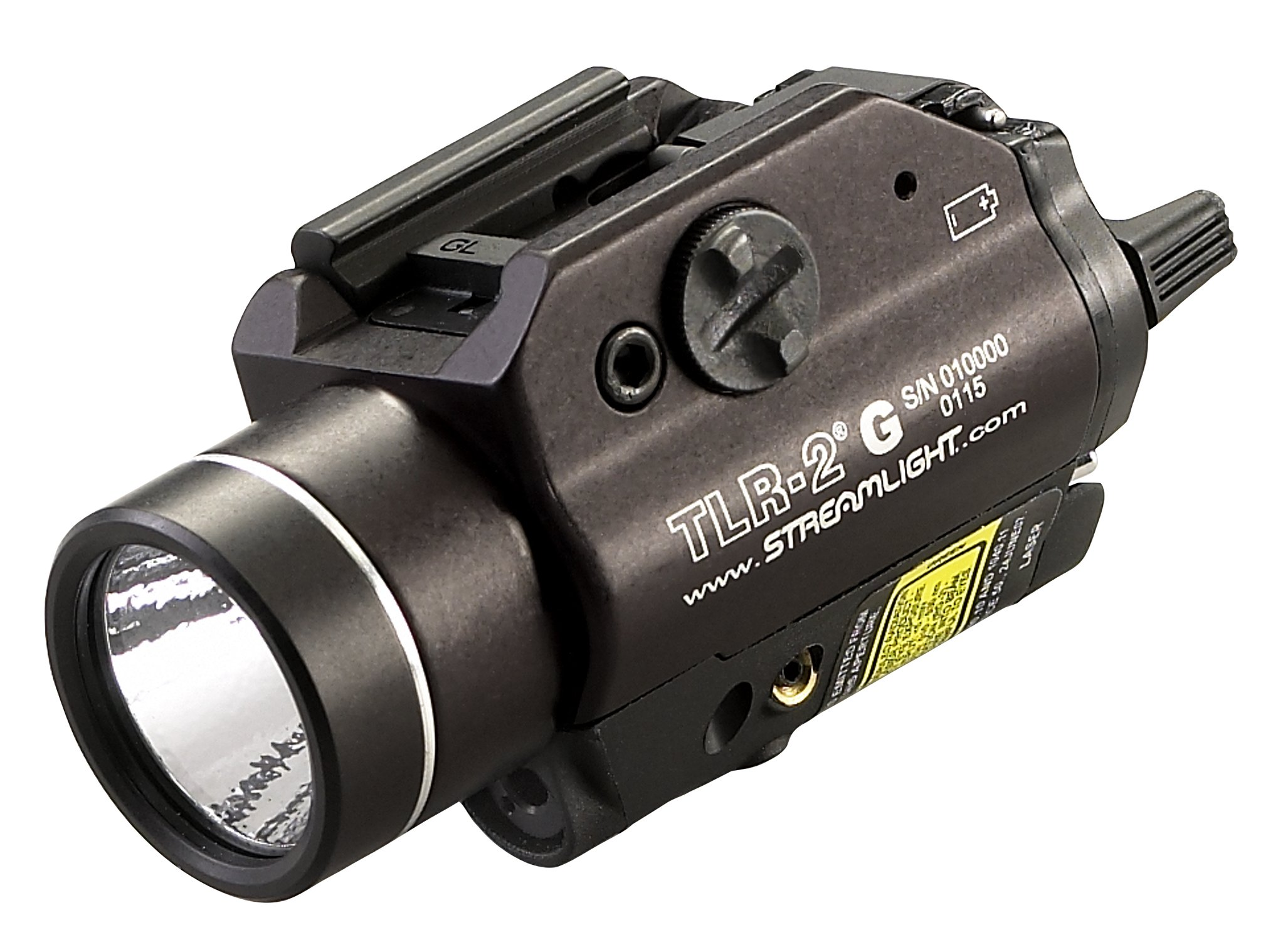 Streamlight 69250 TLR-2 G Rail-Mounted Tactical Light with Integrated Green Aiming Laser