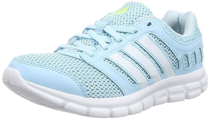 adidas Breeze 101 2 W, Chaussures de Running Femme - Bleu (froblu/ftwwht/s), 40 2/3 EU