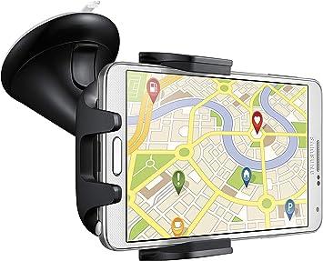 Samsung EE-V200SA - Soporte de móviles para coches (Diseño universal, compatible con pantallas de 4
