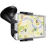 "Samsung EE-V200SA - Soporte de móviles para coches (Diseño universal, compatible con pantallas de 4"" a 5.8""), negro"