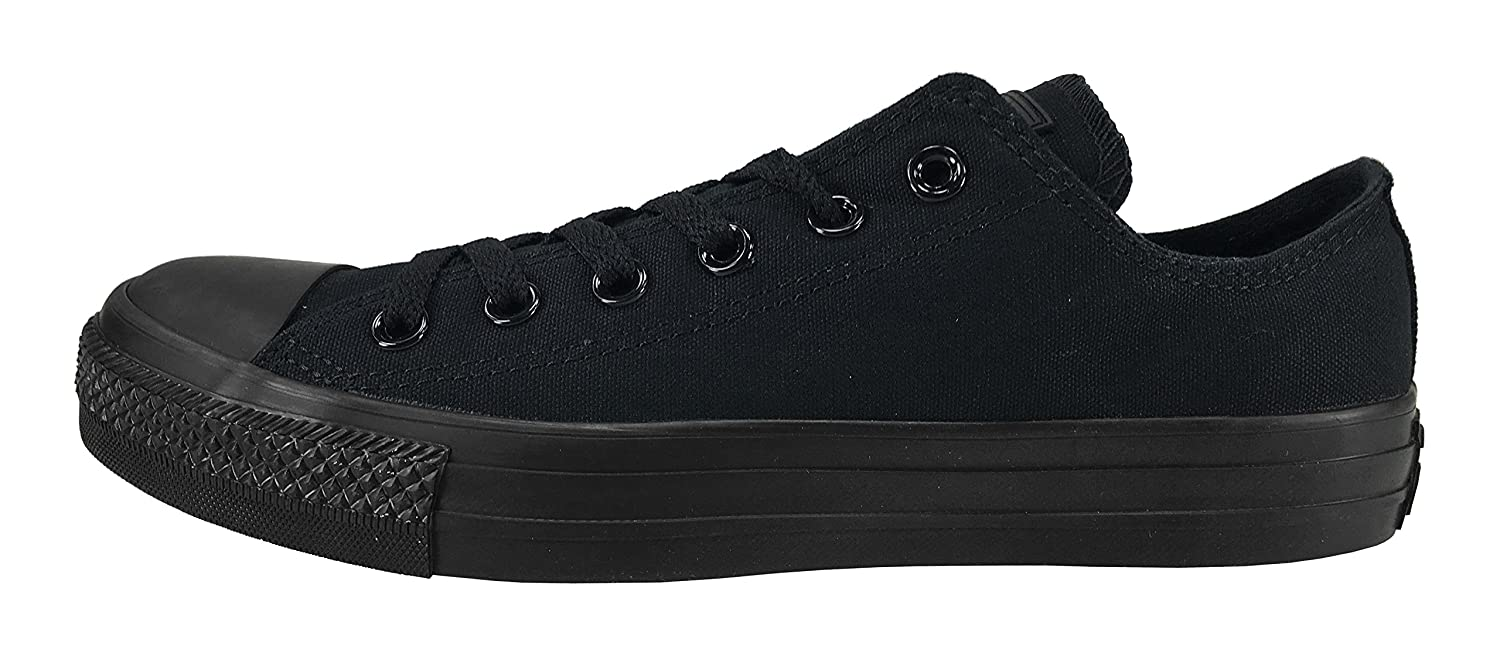 Amazon.com | Converse Unisex Chuck Taylor All Star Ox Low Top Classic Black Monochrome Sneakers - 6 Men 8 Women | Fashion Sneakers