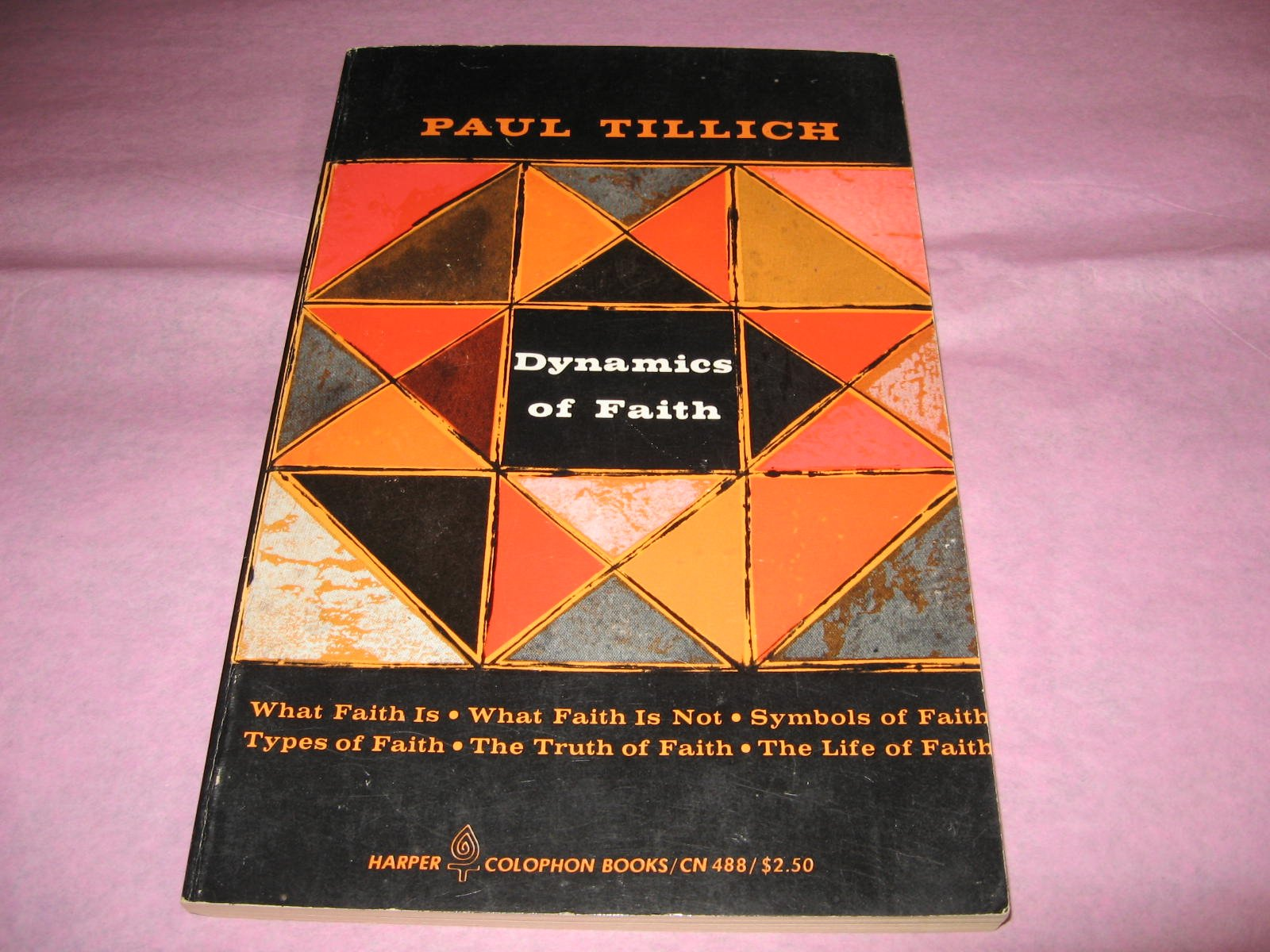 Dynamics of Faith., Tillich, Paul