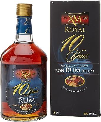 XM 10 años Royal Demerara Rum (1 x 0,7 l)